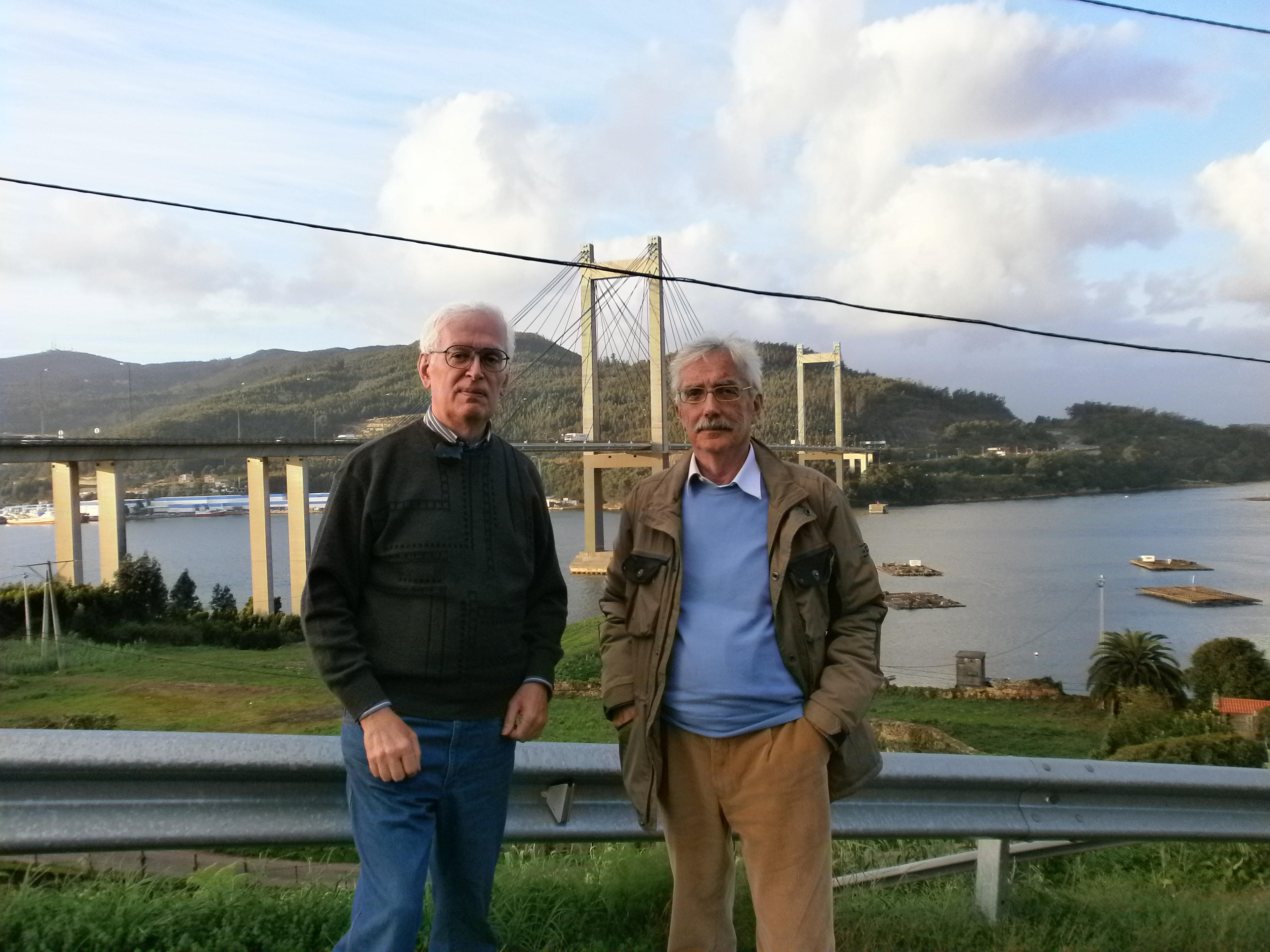 Foto 02 Vigo ponte io e Giorgio P