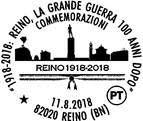 ANNULLO FILATELICO SPECIALE REINO (BN)_